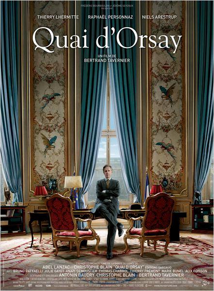 Quai D'orsay Poster,