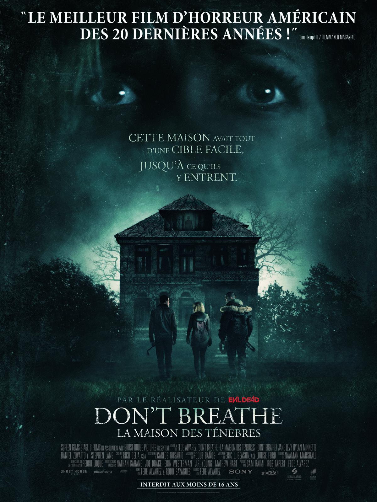 Don't Breathe La maison des ténèbres