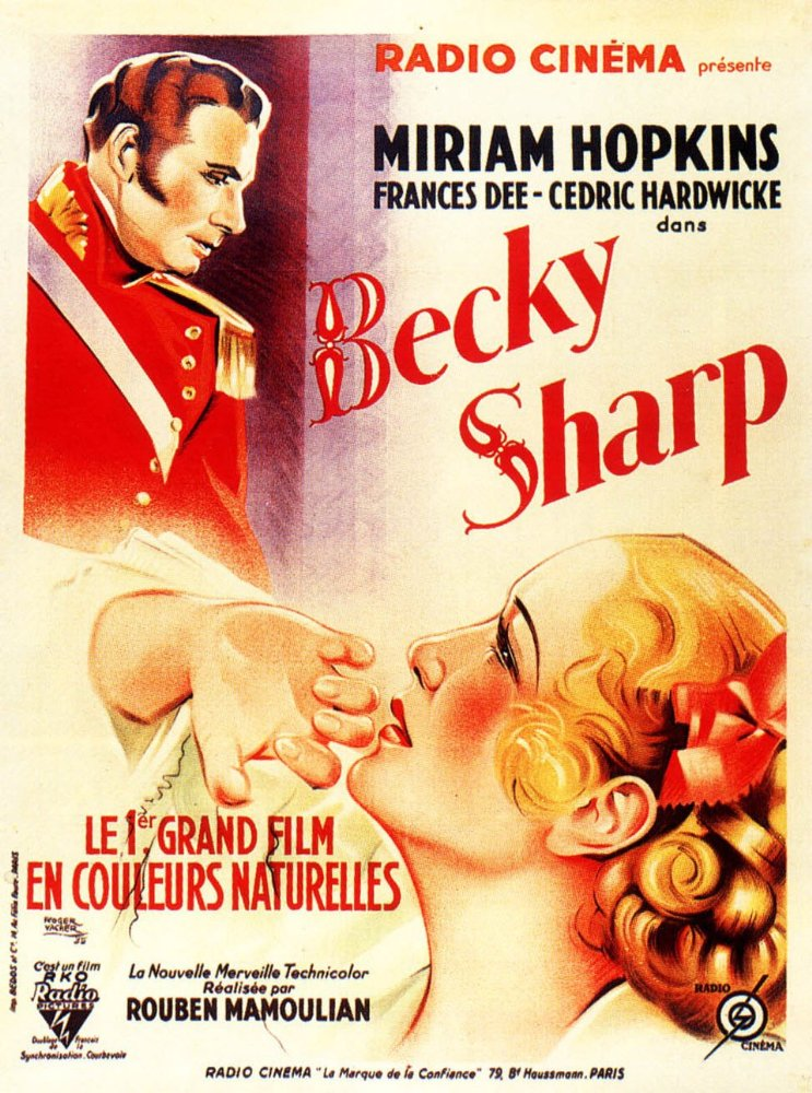 Becky Sharp Film 1935 AlloCin