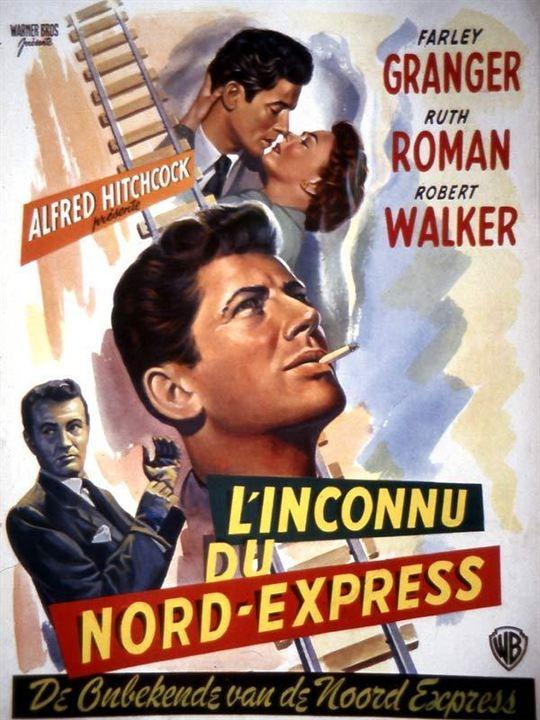 L'Inconnu du Nord-Express : Affiche