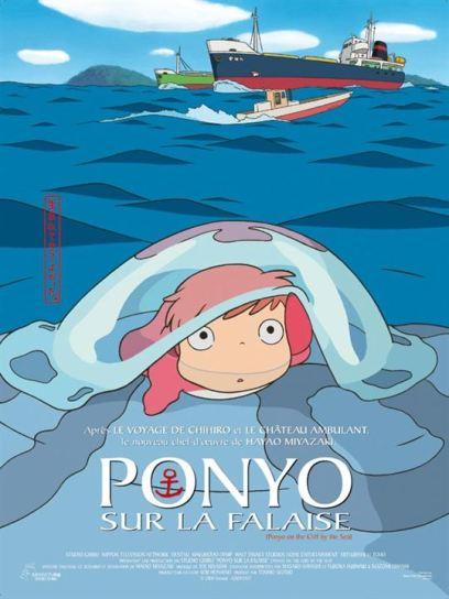 Affiche du film Ponyo sur la falaise - Affiche 2 sur 3 - AlloCiné