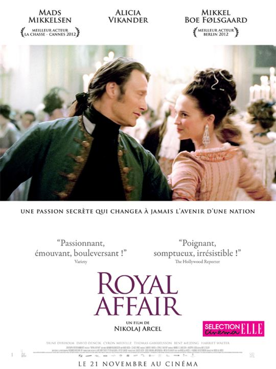 Royal Affair : Affiche