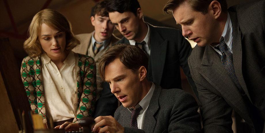 Imitation Game : Photo Allen Leech, Benedict Cumberbatch, Keira Knightley, Matthew Beard, Matthew Goode