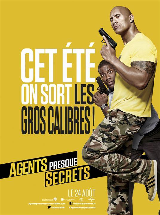 Agents presque secrets : Affiche