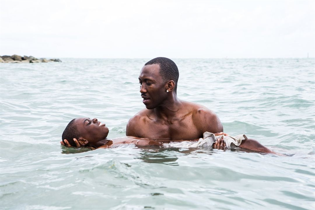 Moonlight : Photo Alex R. Hibbert, Mahershala Ali