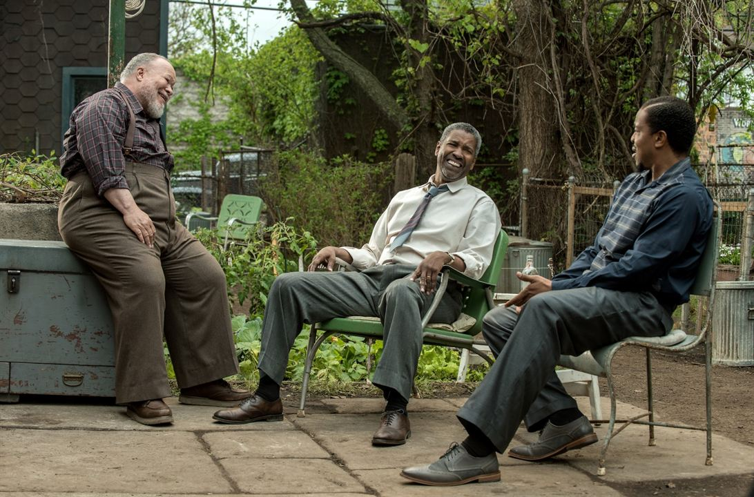 Fences : Photo Denzel Washington, Russell Hornsby, Stephen Henderson