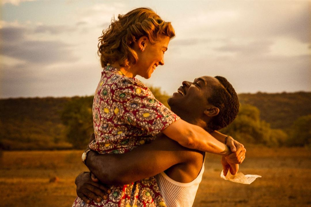 A United Kingdom : Photo David Oyelowo, Rosamund Pike