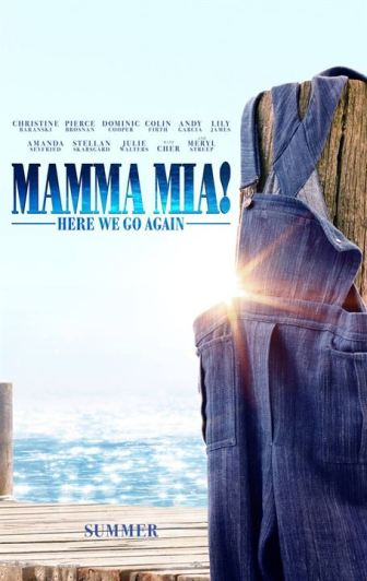 Mamma Mia: Here We Go Again! : Affiche