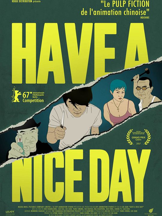 Have a Nice Day : Affiche