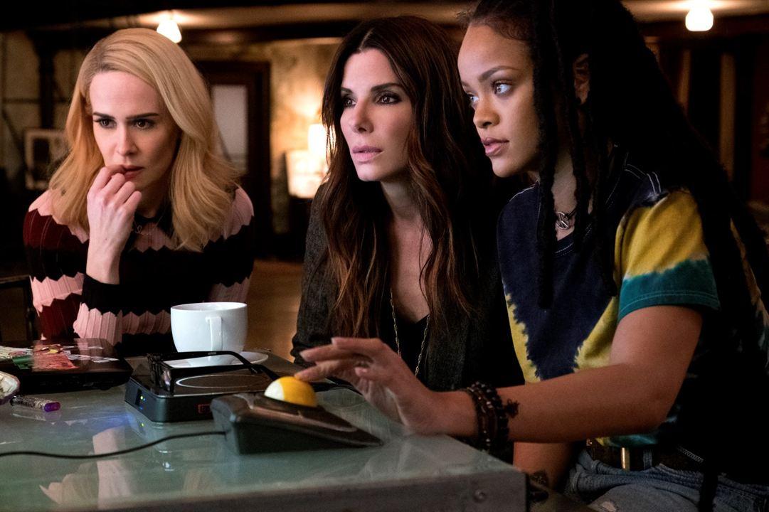 Ocean's 8 : Photo Rihanna, Sandra Bullock, Sarah Paulson