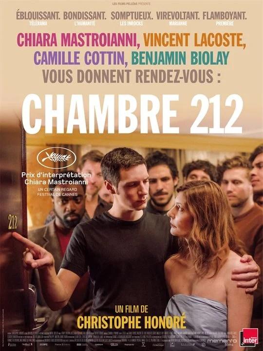 Chambre 212 : Affiche