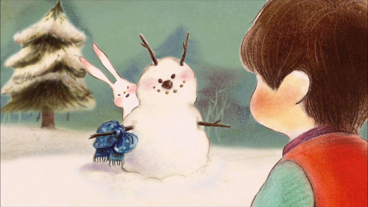 Pirouette et le sapin de Noël : Photo