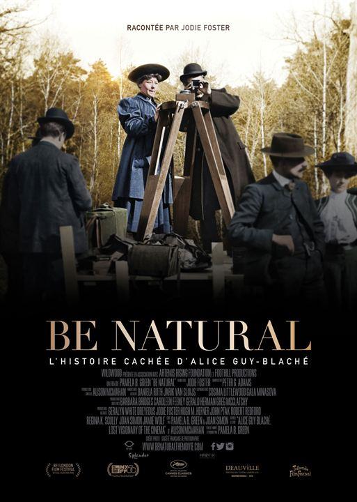 Be natural, l'histoire cachée d'Alice Guy-Blaché : Affiche