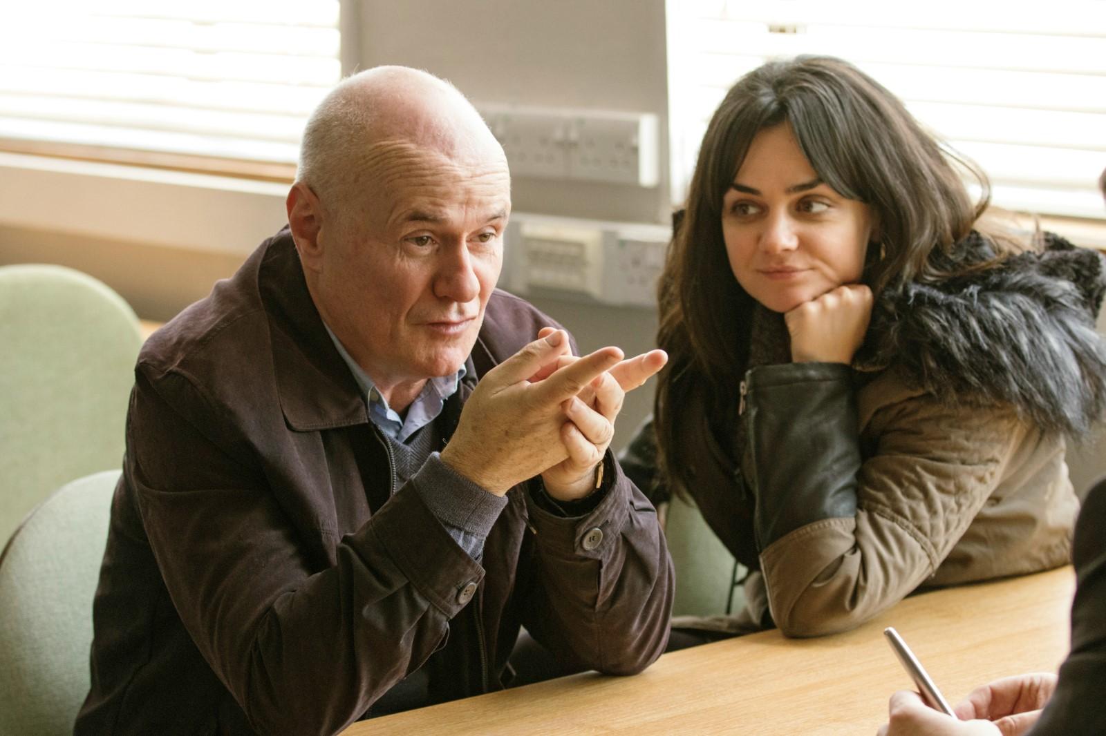 Daniel Blake (Dave John) et Katie (Hayley Squires)