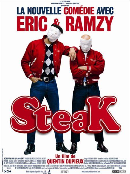 Steak : Affiche Eric Judor, Quentin Dupieux, Ramzy Bedia