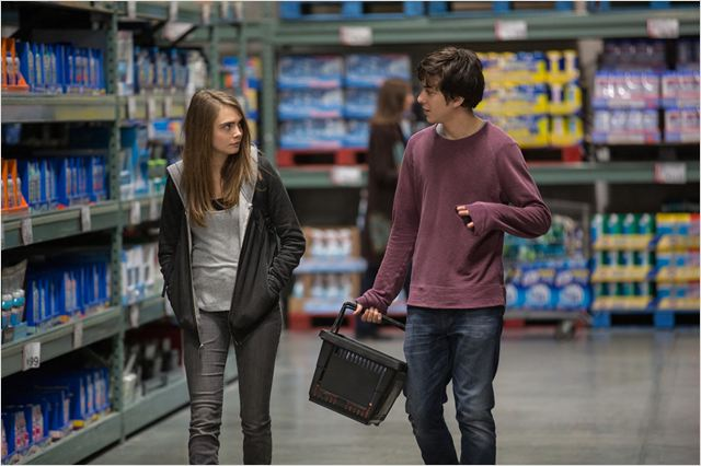 La Face cachée de Margo : Photo Cara Delevingne, Nat Wolff