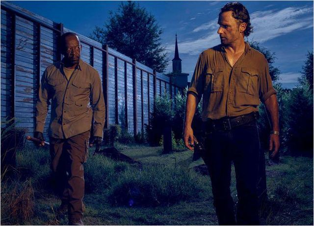 Photo Andrew Lincoln, Lennie James