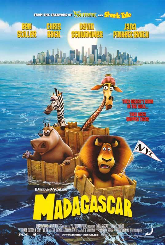 """Résultat de recherche d'images pour """"madagascar film affiche"""""""