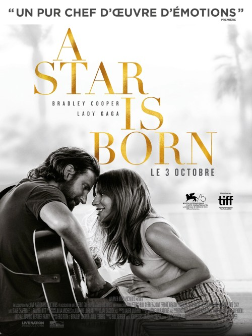 A Star is born réalisé par Bradley Cooper