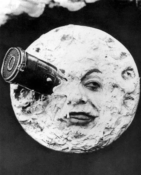 Le Voyage dans la Lune : Photo Georges Méliès