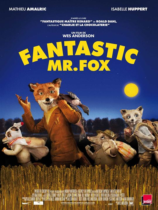 Fantastic Mr. Fox : Affiche Wes Anderson