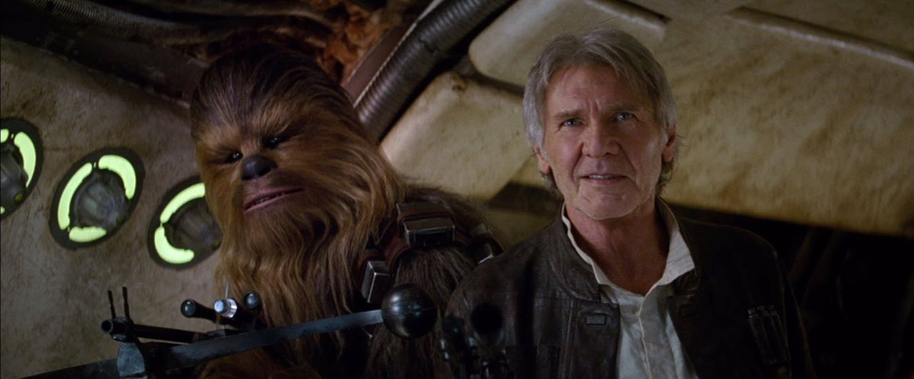 Star Wars - Le Réveil de la Force : Photo Harrison Ford, Peter Mayhew