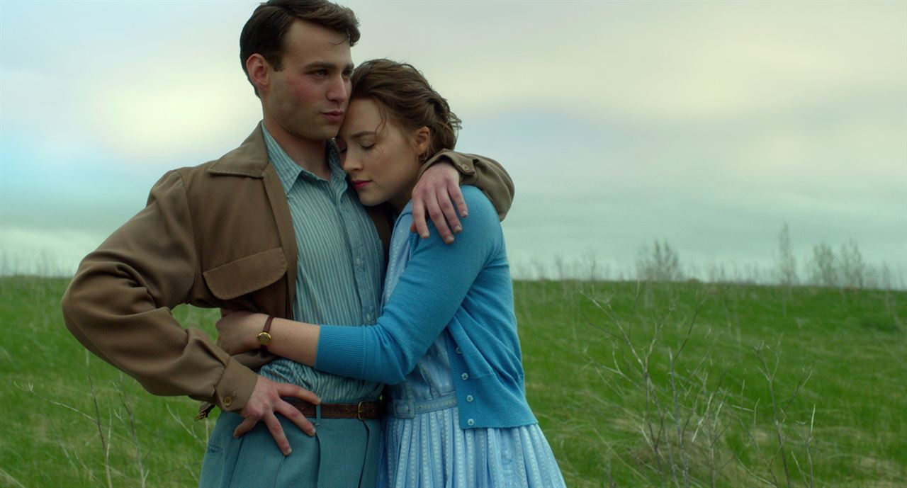 Brooklyn : Photo Emory Cohen, Saoirse Ronan