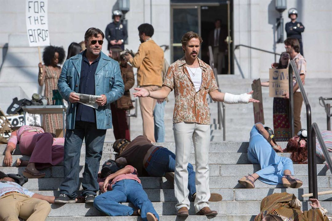 The Nice Guys : Photo Russell Crowe, Ryan Gosling
