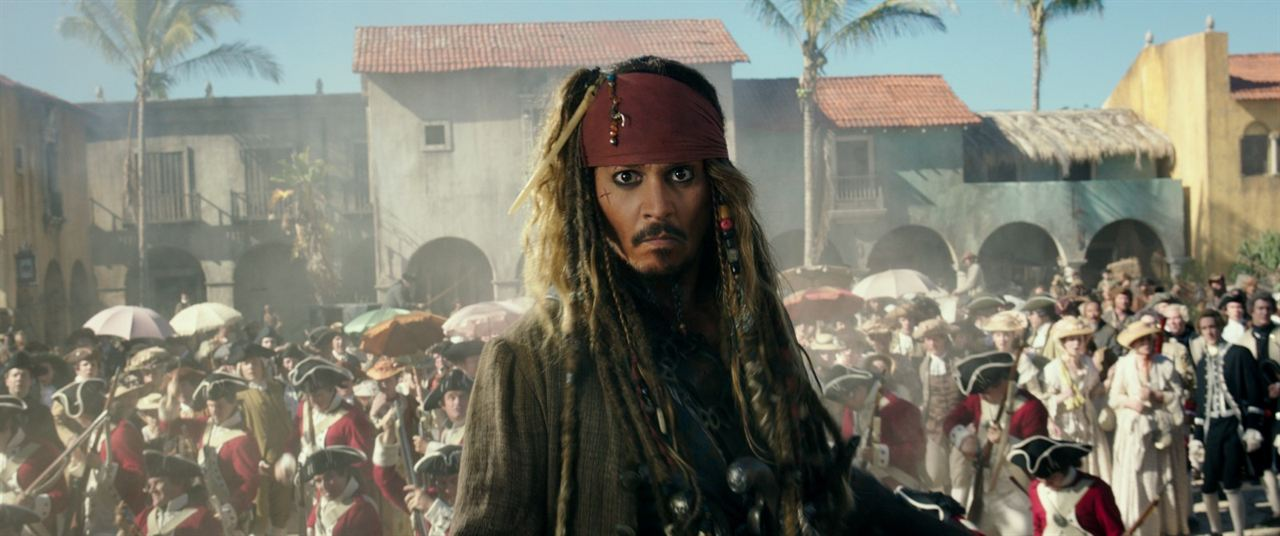Pirates des Caraïbes : la Vengeance de Salazar : Photo Johnny Depp