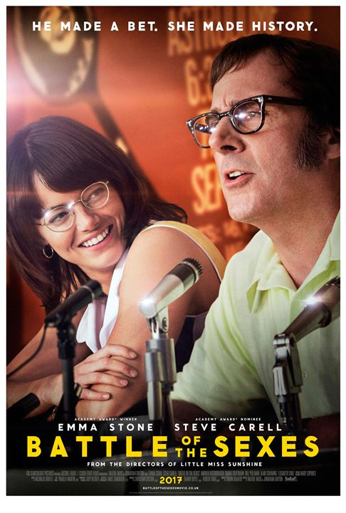 Battle Of The Sexes : Affiche