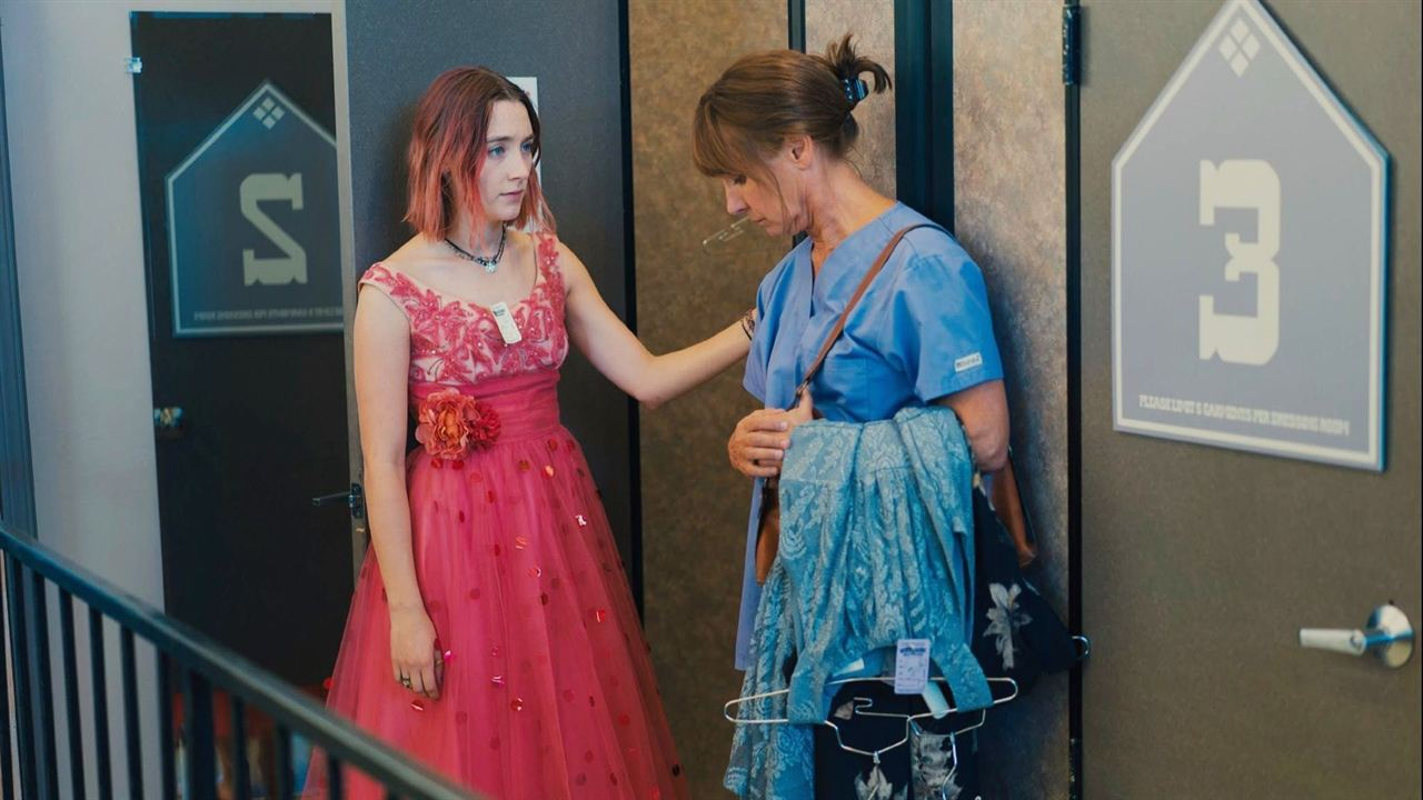 Lady Bird : Photo Laurie Metcalf, Saoirse Ronan