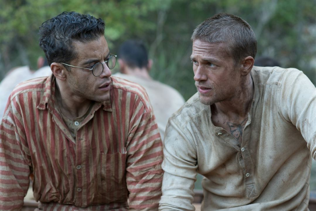 Papillon : Photo Charlie Hunnam, Rami Malek