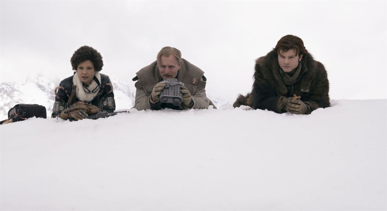 Solo: A Star Wars Story : Photo Alden Ehrenreich, Thandie Newton, Woody Harrelson