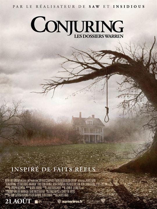 Conjuring : Les dossiers Warren : Affiche