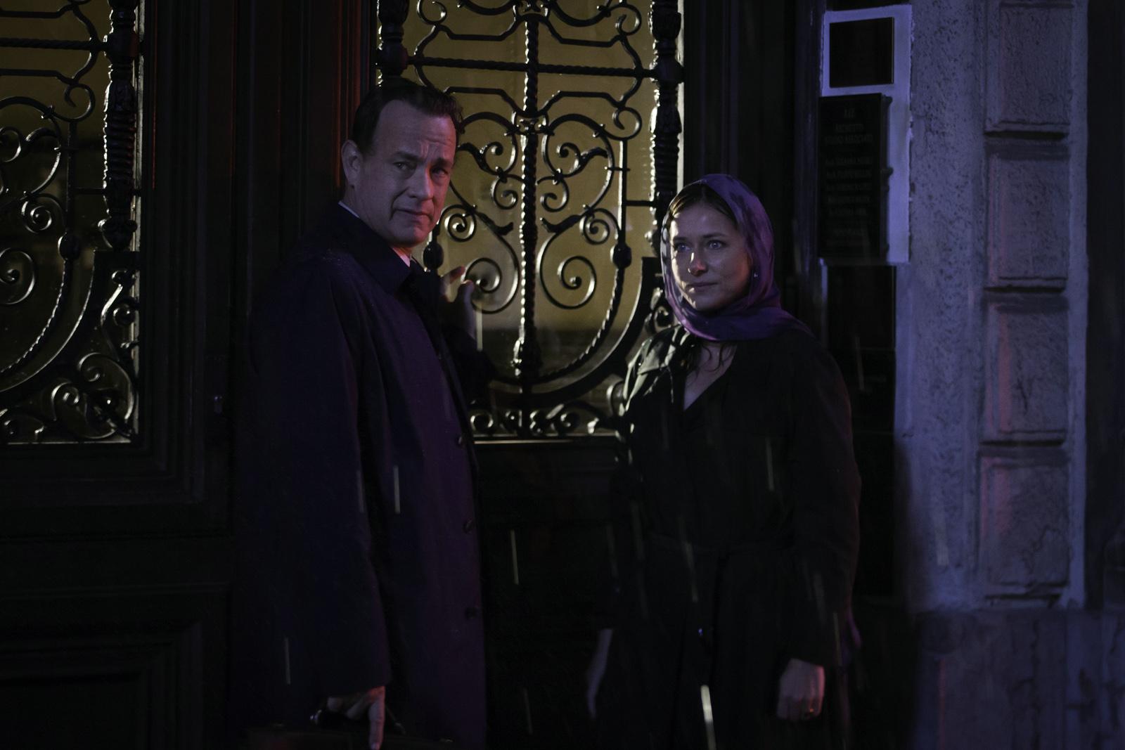 Robert Langdon (Tom Hanks) et Elisabeht Sinskey (Sidse Babett Knudsen)