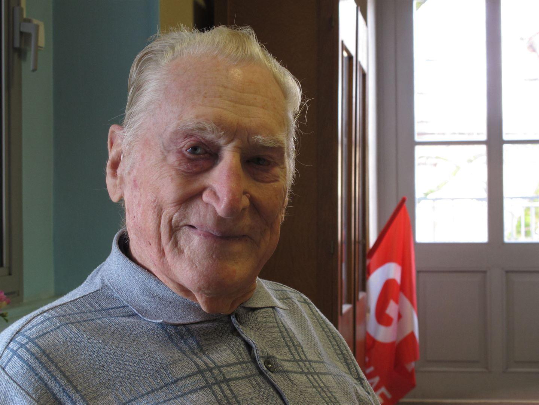 Jolfred Fégonara, militant CGT