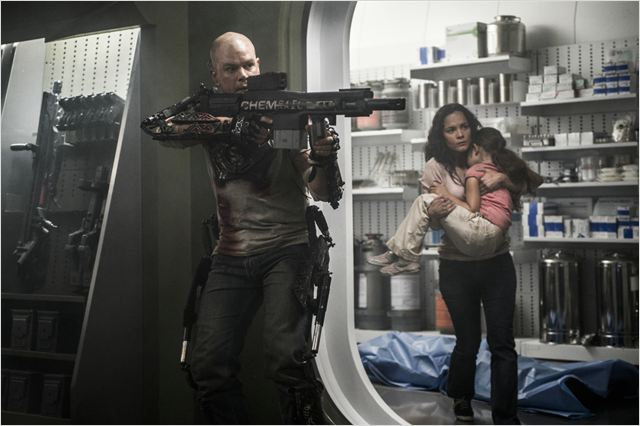 Elysium : Photo Alice Braga, Matt Damon