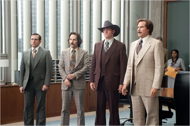 Légendes Vivantes : Photo David Koechner, Paul Rudd, Steve Carell, Will Ferrell