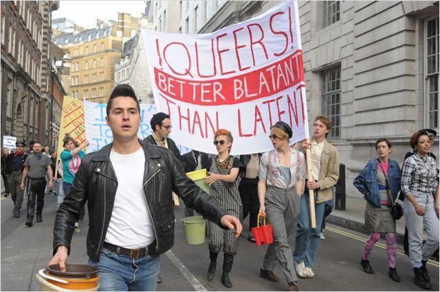 Pride : Photo Ben Schnetzer, Faye Marsay, Freddie Fox, George Mackay, Joseph Gilgun