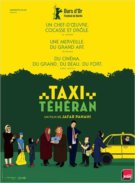 Taxi Téhéran : Affiche