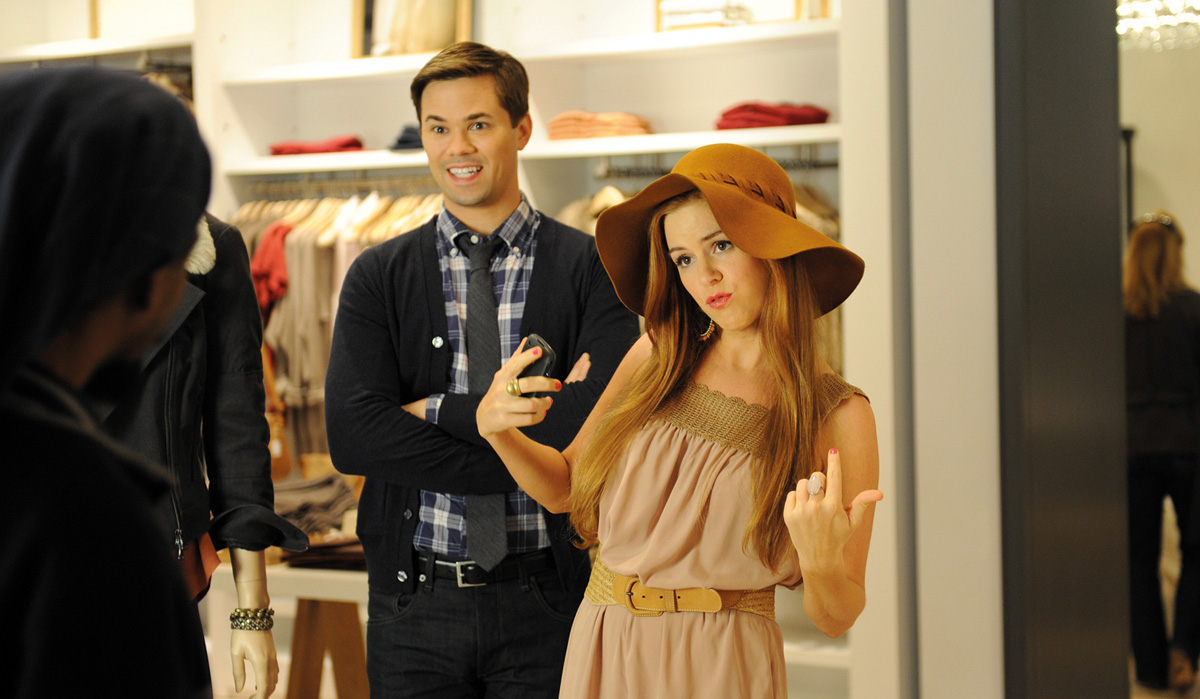 Bachelorette : photo Andrew Rannells, Isla Fisher