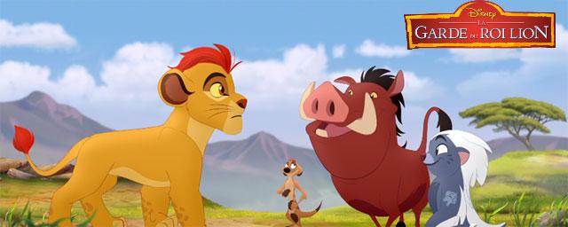 la garde du roi lion timon et pumbaa