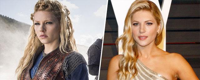 Découvrez les acteurs de vikings à la ville ! Vikings Les Acteurs Avec Et Sans L Armure Allocine