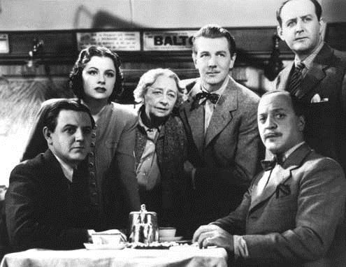 Une femme disparaît : Photo Basil Radford, Cecil Parker, Dame May Whitty, Margaret Lockwood, Michael Redgrave