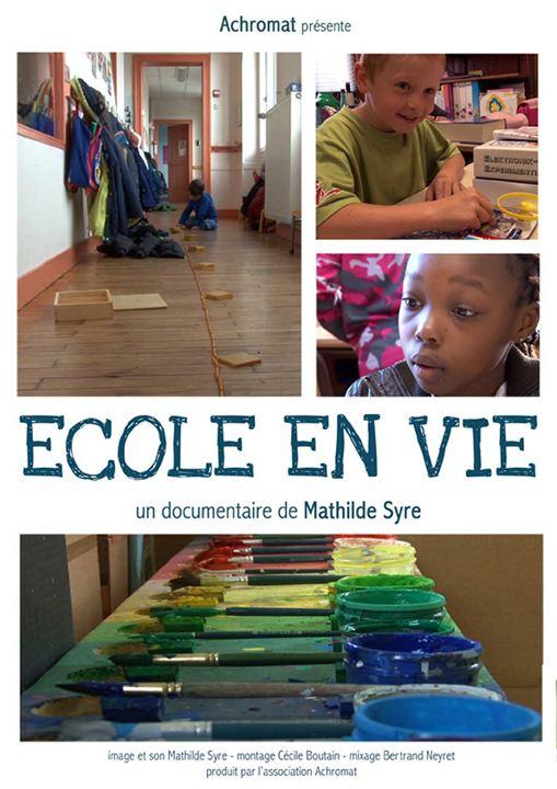 Ecole en vie : Affiche