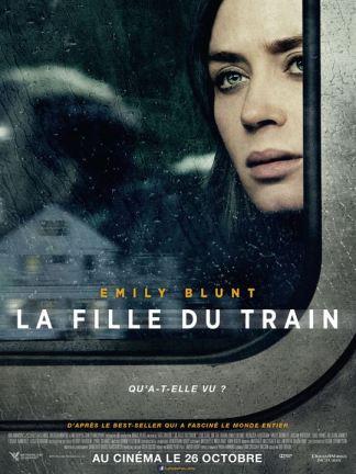 La Fille du train : Affiche