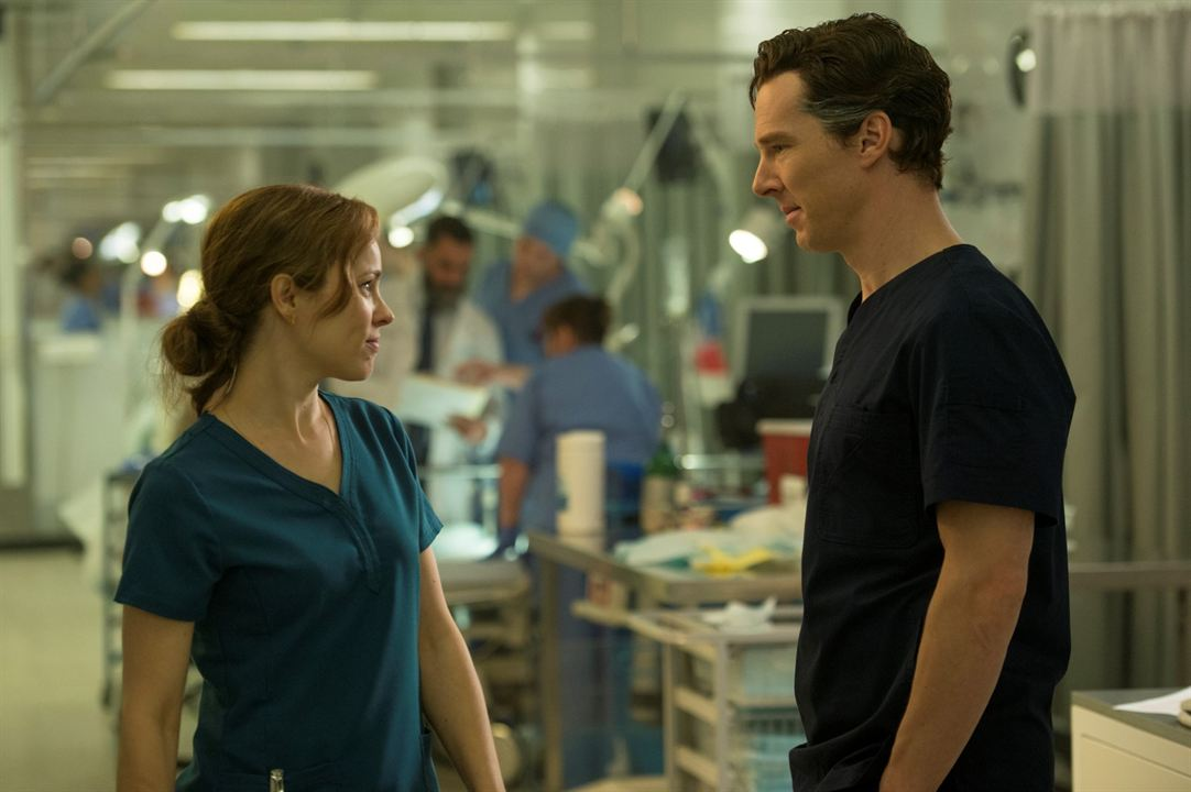 Doctor Strange : Photo Benedict Cumberbatch, Rachel McAdams