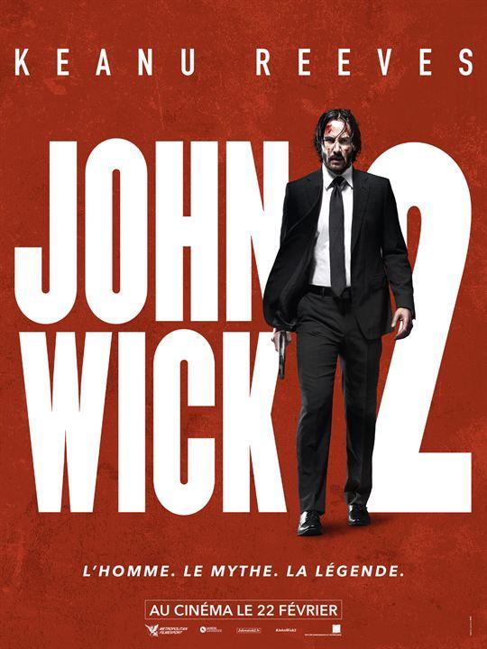 John Wick 2 : Affiche
