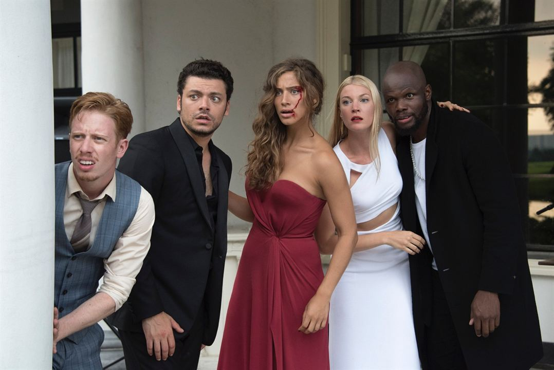 Gangsterdam : Photo Côme Levin, Hubert Koundé, Kev Adams, Manon Azem, Mona Walravens