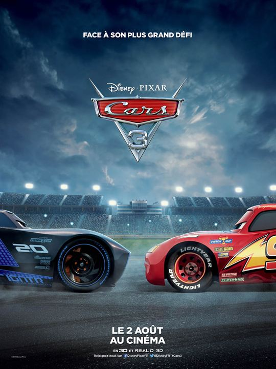 Cars 3 : Affiche